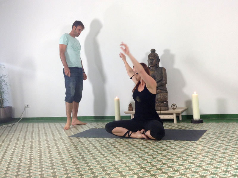 Produktion Yoga Videos bei fitkurs.de