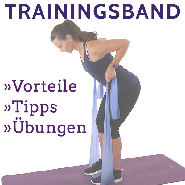 Übungen mit Trainingsband