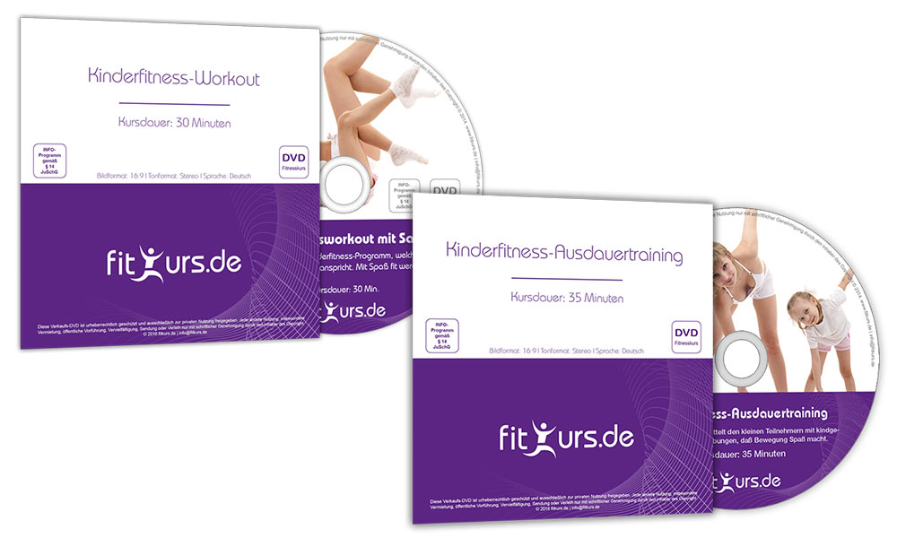 DVD Kinderfitness - Training für Kinder